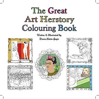 The Great Art Herstory Colouring Book
