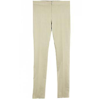 Lauren Vidal Beige Slim Fit Trousers