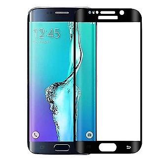 Samsung Galaxy S6 Edge Screen Protection Umfassende 3D cured Glass - Schwarz