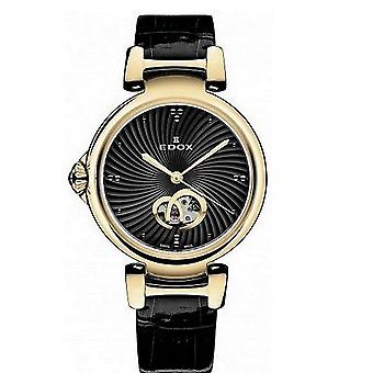 Edox kellot LaPassion Open Heart Naisten Watch Automaattinen 85025 37RC NIR