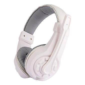 Lupuss G1 Headphones with Microphone Headphones Stereo Gaming for PlayStation 4 White