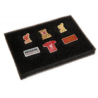 Liverpool FC 6 osainen Badge Set