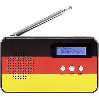 Reflexion TRA5005D+ GER Desk radio DAB+, FM DAB+, FM, USB Tangible keypad