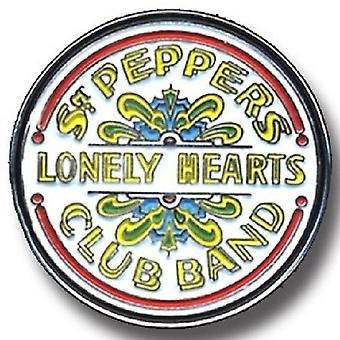 The Beatles Badge Sgt Pepper Band Logo Official Mini Pin Lapel