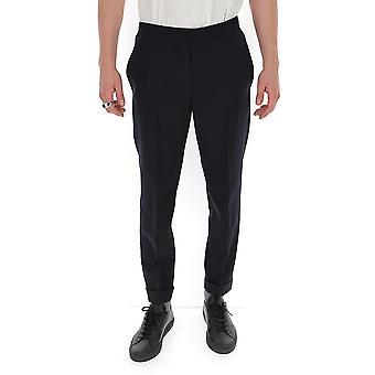 Neil Barrett Pbpa635p026415 Men's Blue Wool Pants