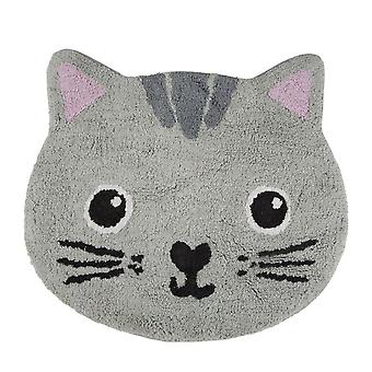 Kawaii Cat Rug - Childrens Bedroom Nursery