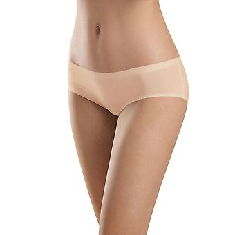 Hanro Perfectly Nude Skin Colored Cotton Velvet Low Rise Hipster 1432-274