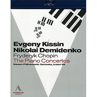 F. Chopin - Piano Concertos Warsaw 2010 [BLU-RAY] USA import