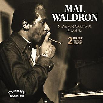 Mal Waldron - News: Run About Mal - Mal 81 [CD] USA import