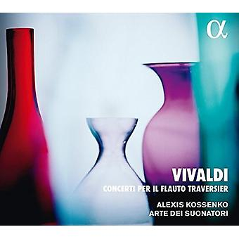 Vivaldi / Suonatori / Kossenko - Concerti Per Il Flauto Traversier [CD] Importación de Estados Unidos