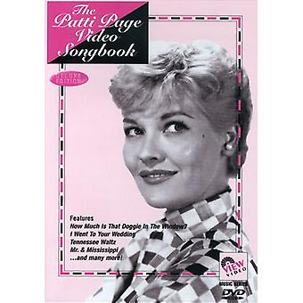 Patti Page - Video Songbook [DVD] USA import