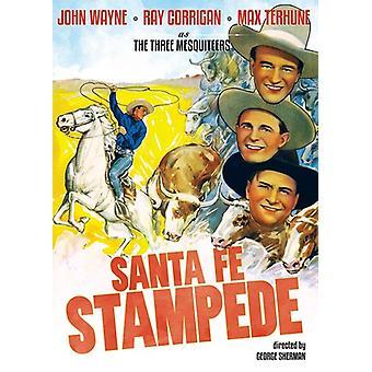 Santa Fe Stampede (1938) [DVD] USA import