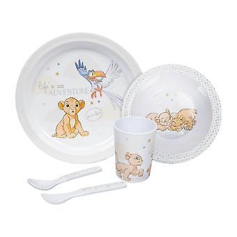 Disney Baby Magical Begin Simba 5 Piece Dinner Set