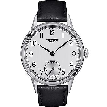 Tissot Watches T119.405.16.037.00 Men's Heritage Petite Seconde Black Leather Watch