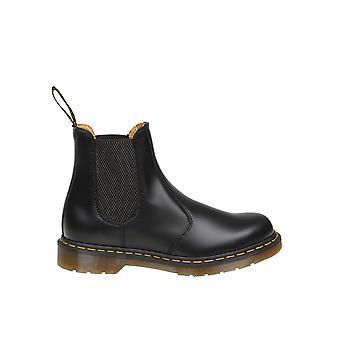 Dr. Martens Dms2976bsmz22227001 Heren's Black Leather Enkellaarsjes
