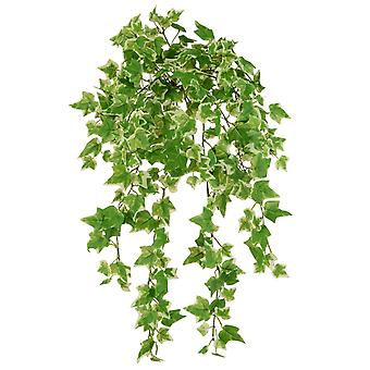 45cm Luxury Canary Ivy Bush for Floristry Crafts - Artificial Foliage