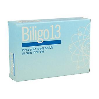 Biligo 13 (Aluminum) 20 ampoules of 2ml