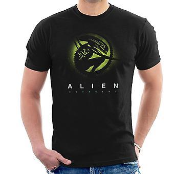 Alien Covenant Xenomorph Silhouette miesten ' s T-paita