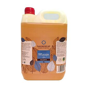 Relaxing Massage Oil 5% 5 L of oil
