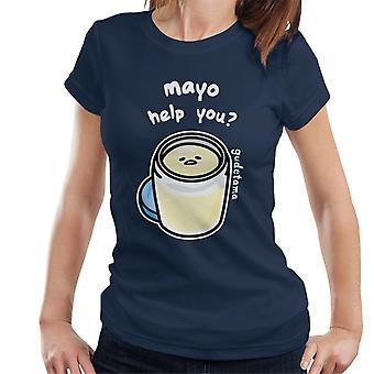 Gudetama Mayo Me Ajude Mulheres'Camiseta
