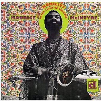 Kalaparusha Maurice McIntyre - humildad a la luz de importación USA Creat [CD]