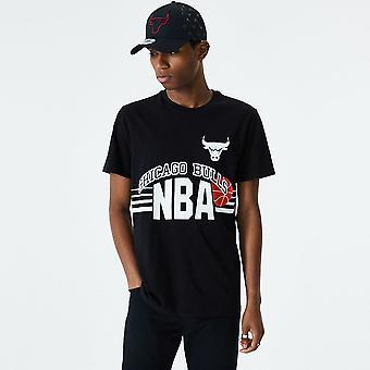 Neue Ära NBA Throwback T-Shirt - Chicago Bulls