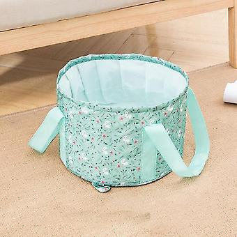 Rejser Foldable Basin Bucket - Vask Vask Vask Kurv, Spa Foot Bad Bucket