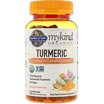 Garden of Life, MyKind Organics, Turmeric, Inflammatory Response Gummy, 120 Vega