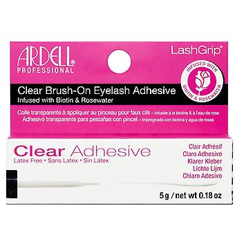 Ardell Brush On Lash Adhesive - 5g Clear Finish - Biotin Infused Formula