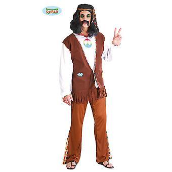 Traje de energía de la flor del Hippie para hippy de fiesta con temática de carnaval los hombres