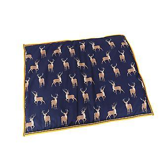 Shires Digby & Fox Wodoodporne łóżko dla psa - Jeleń Print