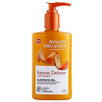 Avalon organics vitamin c fornyelse fuktighetsgivende rensemiddel, 8,5 oz *