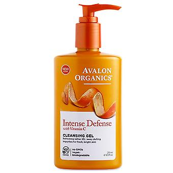 Avalon organics vitamin c renewal hydrating cleansing milk, 8.5 oz *