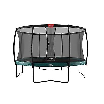BERG Elite Regular 380 12.5ft Trampoline Green met Safety Net Deluxe