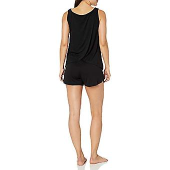 Brand - Mae Women's Sleepwear Sleeveless Split Back Top en Short Paja...