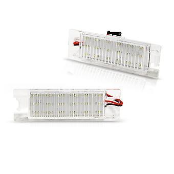 Rekisterikilven valaistus LED OPEL ZAFIRA B/ ASTRA H/ CORSA D LED