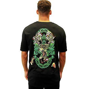 Oosterse Vis Zwart Oversized T-shirt