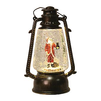 Straits Round LED Spinner, Santa