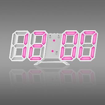 3d Led Modern Digital Wall Table Clock