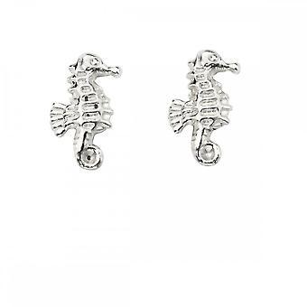 Beginnings Sterling Silver Seahorse Earrings A2050