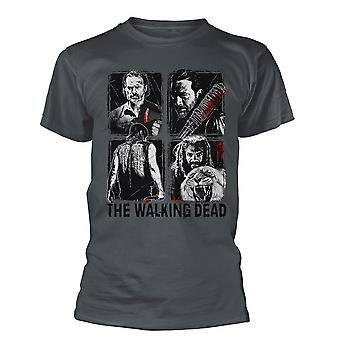 The Walking Dead 4 Characters T shirt
