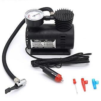 Mini Air Compressor Electric Pump Abs Automotive Durable Vehicle 300 Psi Tire