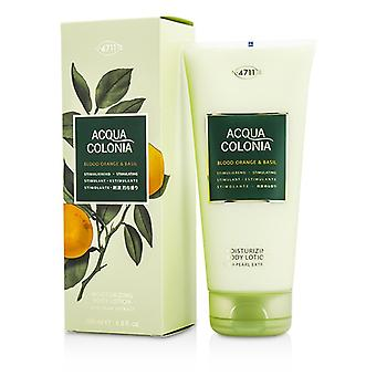 4711 Acqua Colonia bloedsinaasappel & basilicum Moisturizing Body Lotion 200ml/6,8 oz
