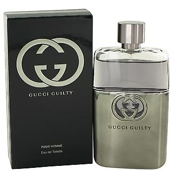 Gucci Guilty Eau De Toilette Spray By Gucci 3 oz Eau De Toilette Spray