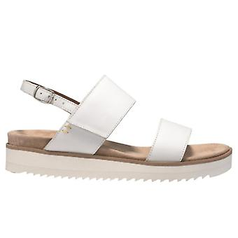 Benvado Lilly White Soft Leather Sandals
