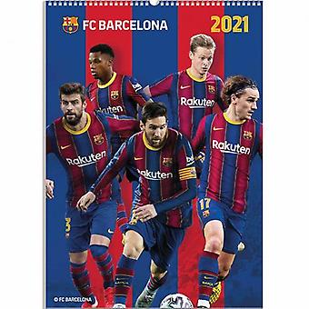 Barcelona Calendar 2021