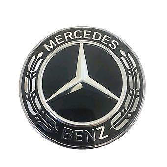 Mercedes Bonnet Benz Laurel Bonnet Badge Emblem 57mm