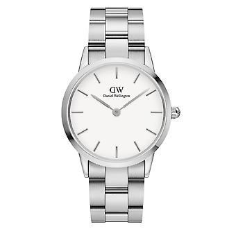 Daniel Wellington DW00100203 Iconic Silver Tone Wristwatch