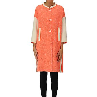 Mouche Ezgl581001 Women's Orange Cotton Coat
