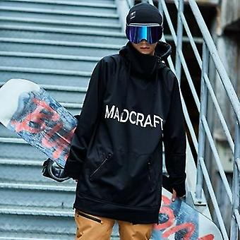 New Winter Casual Men Hoody For Ski Snowboarding, Long Sleeve Woman Pullovers
